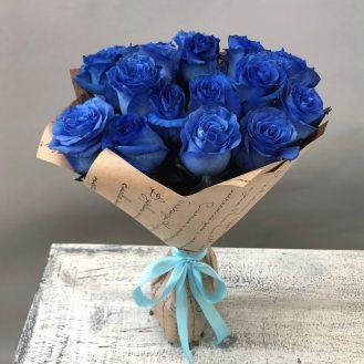 Загадка -  17 синих роз