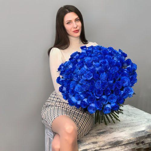 Песня океана - 101 синяя роза