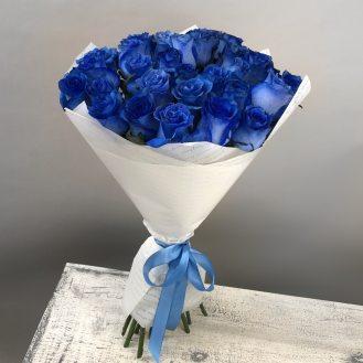 Незнакомка - 35 синих роз