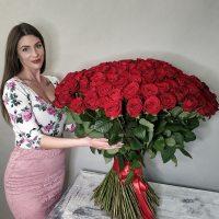 Букет из 201 -  1001 розы