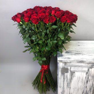 Букет 101 роза 140см