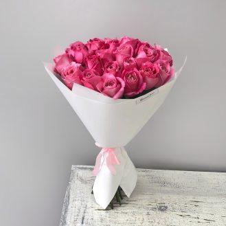 Мечтаю о тебе - 25  роз