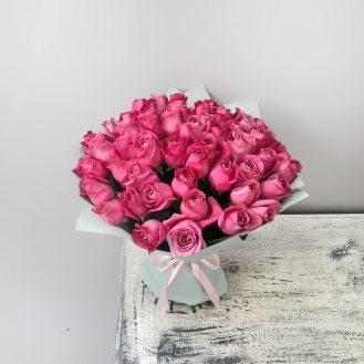 Римские каникулы - 51 розовая роза