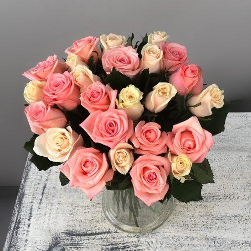Восторг - букет из 25 роз