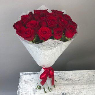Бархат - 21 роза