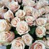 Нежные объятия - 51 кремовая роза