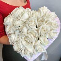 Сердца из роз в Самаре