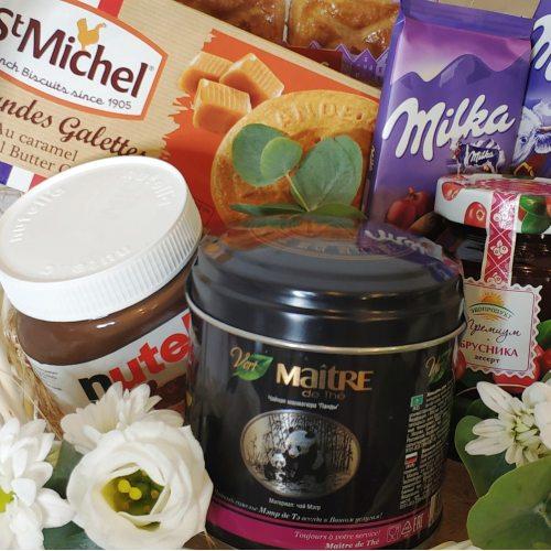 "Корзина ""К чаю и кофе"""