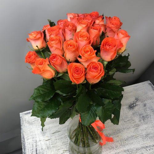 Успех - 27 оранжевых роз