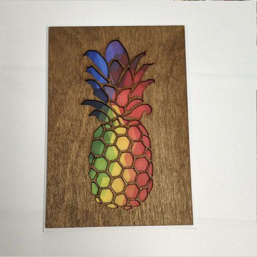 Деревянная открытка №9