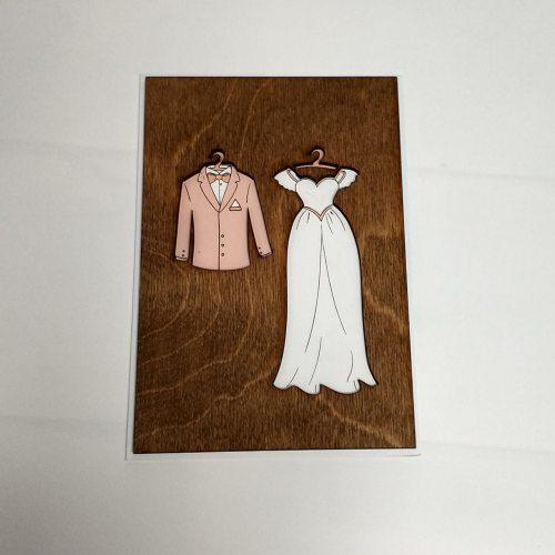 Деревянная открытка №6