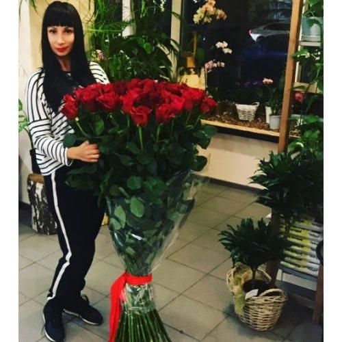 51 роза 150 см
