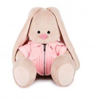 Зайка Ми в розовой курточке 18 см