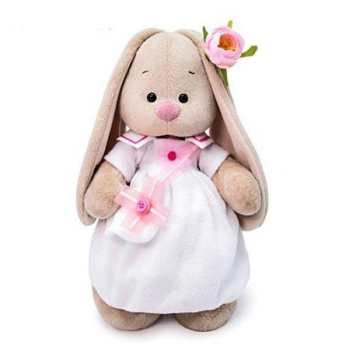 Зайка Ми в платье с сумочкой 25 см